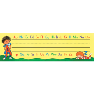 TCR1112 Alphabet Flat Name Plates Image