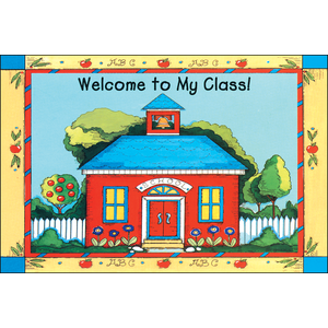 TCR1198 Schoolhouse Welcome Postcards Image