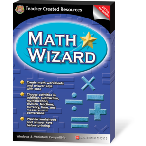 TCR1234 Math Wizard Image