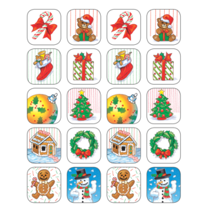 TCR1256 Christmas Stickers Image
