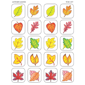TCR1257 Autumn Leaves Stickers Image