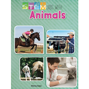 TCR178204 STEM Jobs with Animals Image