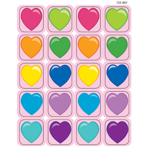 TCR1807 Hearts Stickers Image