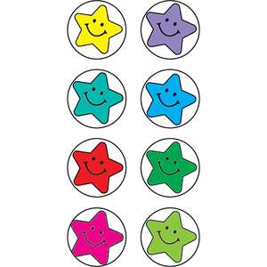 TCR1816 Happy Stars Mini Stickers Image