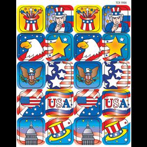 TCR1984 Patriotic 2 Stickers Image