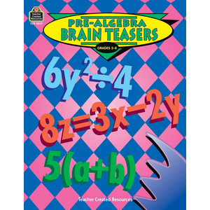 TCR2039 Pre-Algebra Brain Teasers Image