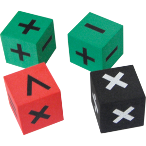 TCR20605 Foam Operations Dice Image