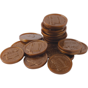 TCR20653 Play Money: Pennies Image
