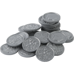 TCR20655 Play Money: Dimes Image