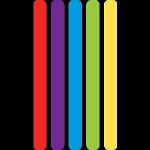 TCR20688 Plastic Craft Sticks Image