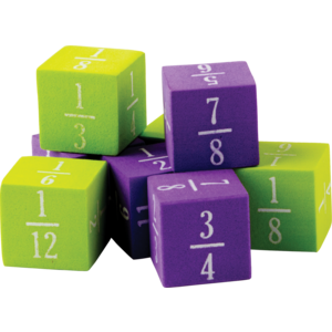 TCR20689 Foam Fractions Dice Image