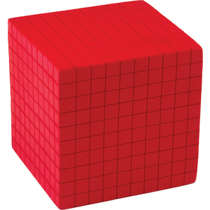 TCR20714 Foam Base Ten: Thousands Cube Image