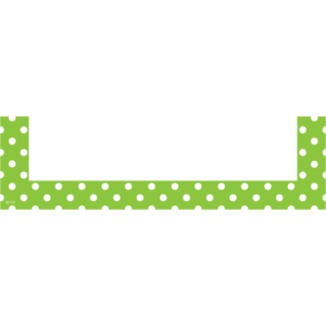 TCR20731 Lime Polka Dots Magnetic Pockets - Small Image