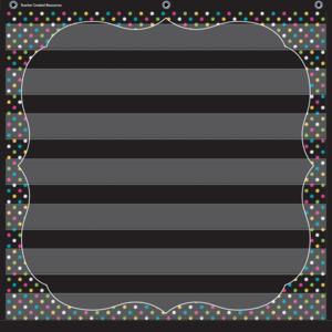 TCR20742 Chalkboard Brights 7 Pocket Chart Image