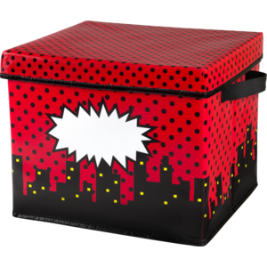 TCR20769 Superhero Storage Box Image