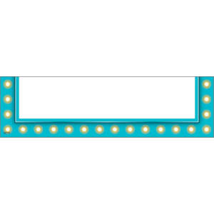 TCR20789 Light Blue Marquee Magnetic Pockets - Small Image