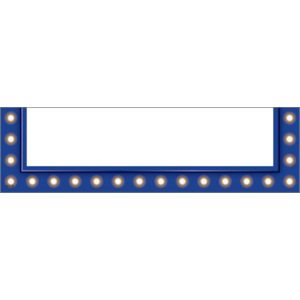 TCR20791 Dark Blue Marquee Magnetic Pockets - Small Image