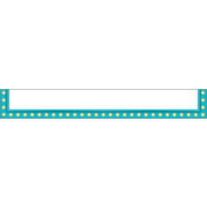TCR20793 Light Blue Marquee Magnetic Pockets - Large Image