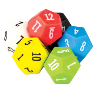 TCR20806 12 Sided Dice 6-Pack Image