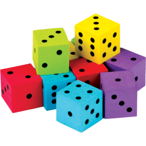 TCR20808 Colorful Dice 20-Pack Image