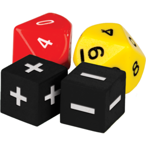 TCR20811 Addition & Subtraction Dice Image