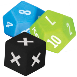 TCR20812 Multiplication Dice Set 3-Pack Image