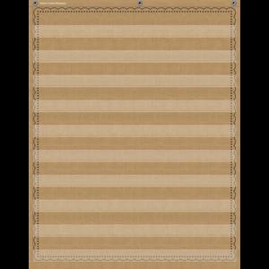 TCR20839 Burlap 10 Pocket Chart Image