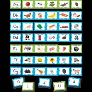 TCR20852 Alphabet Pocket Chart Cards Image