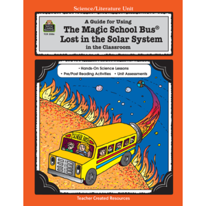 TCR2086 A Guide for Using The Magic School Bus(R) Lost in the Solar System in the Classroom Image