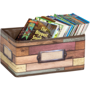 TCR20913 Reclaimed Wood Small Storage Bin Image