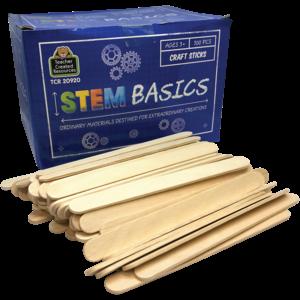 TCR20920 STEM Basics: Craft Sticks - 500 Count Image