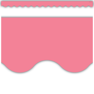 TCR2147 Light Pink Scalloped Border Trim Image