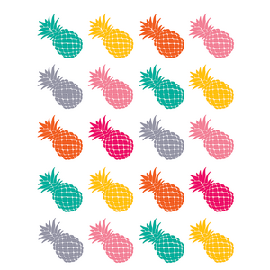 TCR2158 Tropical Punch Pineapples Stickers Image