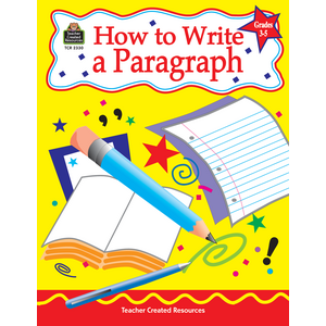 TCR2330 How to Write a Paragraph, Grades 3-5 Image