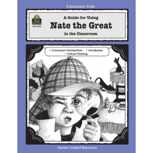 TCR2346 A Guide for Using Nate the Great in the Classroom Image
