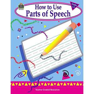 TCR2355 How to Use Parts of Speech, Grades 1-3 Image