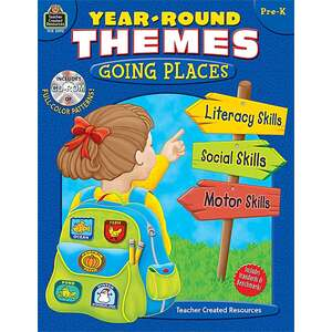 TCR2392 Year-Round Themes: Going Places PreK Image