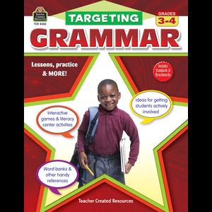 TCR2433 Targeting Grammar Grades 3-4 Image