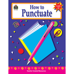 TCR2488 How to Punctuate, Grades 6-8 Image