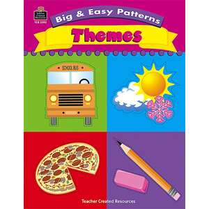 TCR2592 Big & Easy Patterns: Themes Image