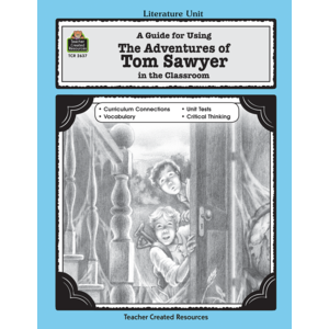 TCR2637 A Guide for Using The Adventures of Tom Sawyer in the Classroom Image