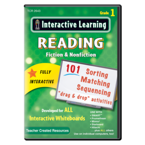 TCR2643 Interactive Learning: Reading Fiction & Nonfiction Grade 1 Image