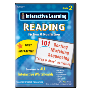 TCR2644 Interactive Learning: Reading Fiction & Nonfiction Grade 2 Image