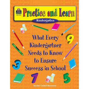 TCR2710 Practice and Learn: Kindergarten Image