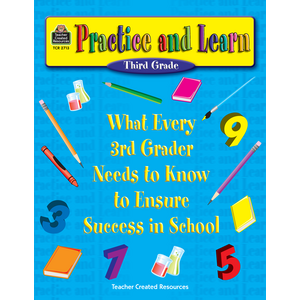 TCR2713 Practice and Learn: 3rd Grade Image