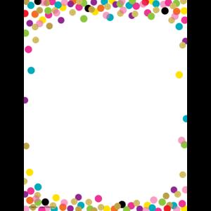 TCR2735 Confetti Computer Paper Image