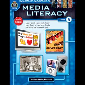 TCR2778 Media Literacy Grade 5 Image