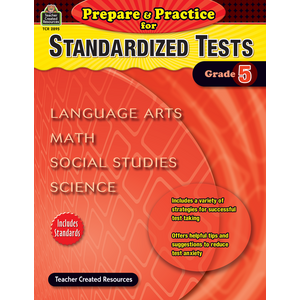 TCR2895 Prepare & Practice for Standardized Tests Grade 5 Image