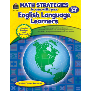 TCR2910 Math Strategies to use with English Language Learners Gr 5-6 Image