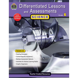 TCR2926 Differentiated Lessons & Assessments: Science Grade 6 Image